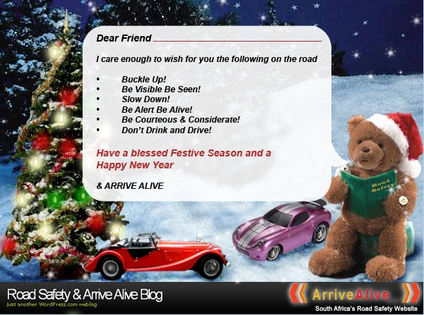 Festive season road safety wishes for our friends road safety festive season road safety wishes for our friends m4hsunfo