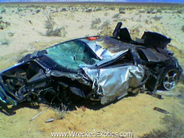 Photos Of 10 Worst High Speed Crashes