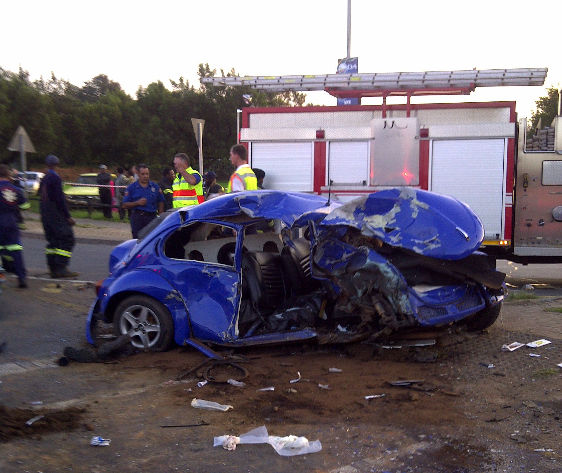 Pretoria Crash Leaves One Dead, Another Critically Injured