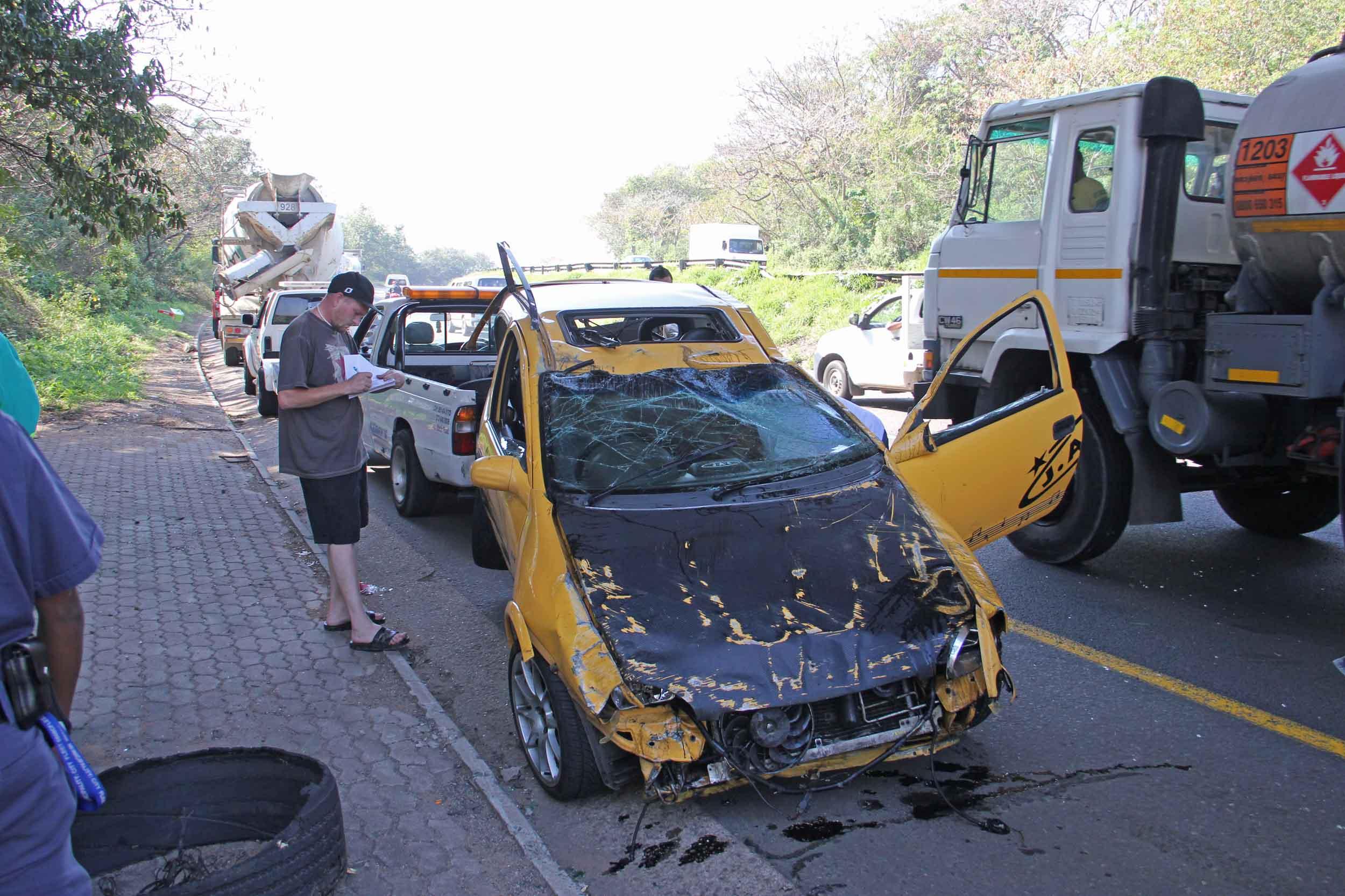 Car Park Accident Advice