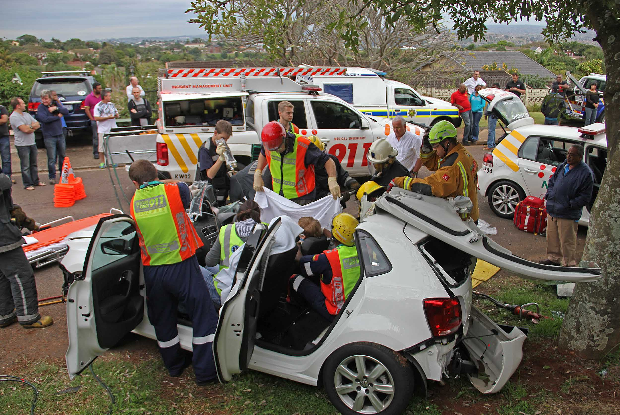 Durban North Accident Leaves Female Critically Injured