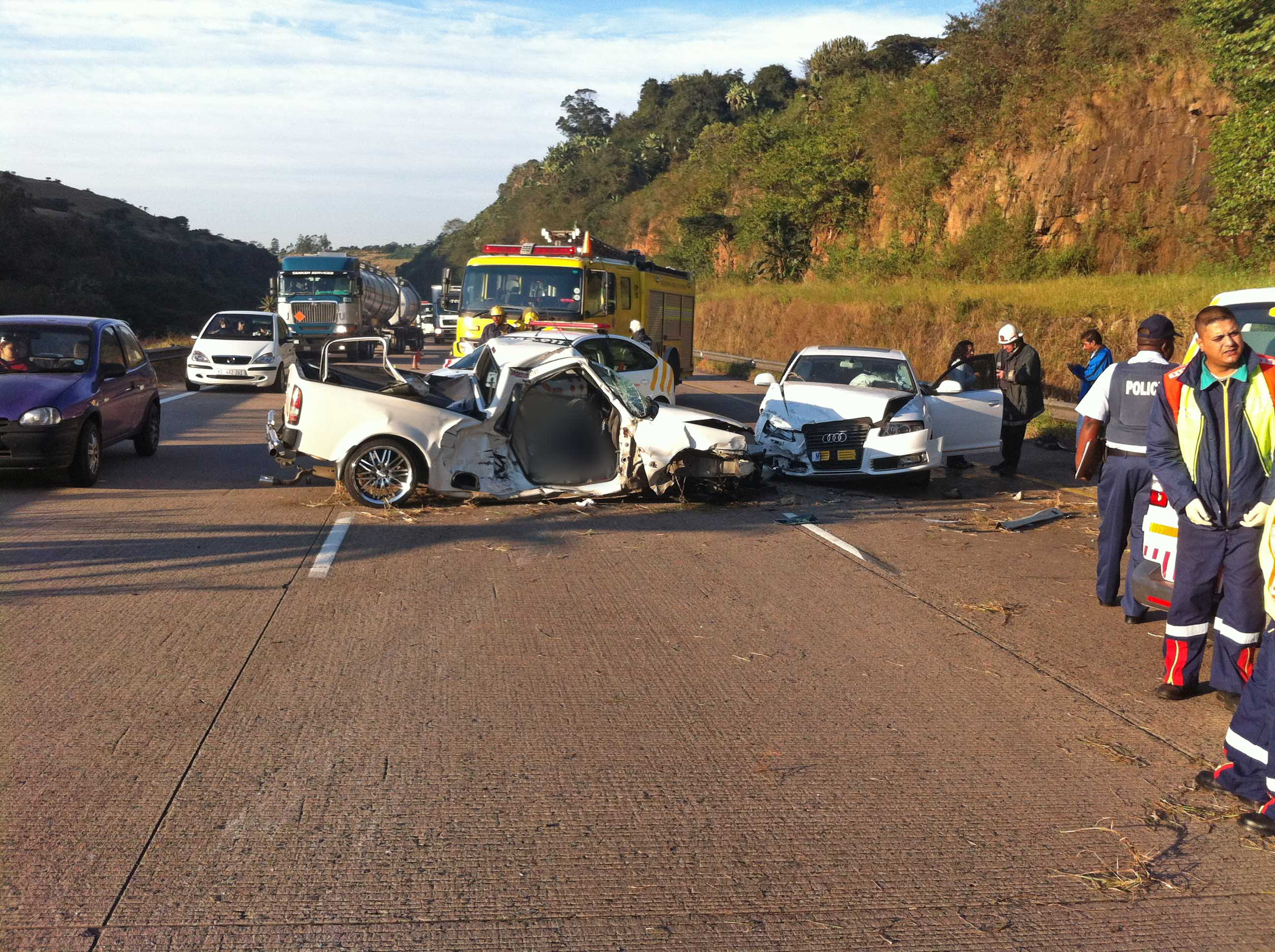 N3 Hammersdale accident leave one dead – four injured | Road Safety