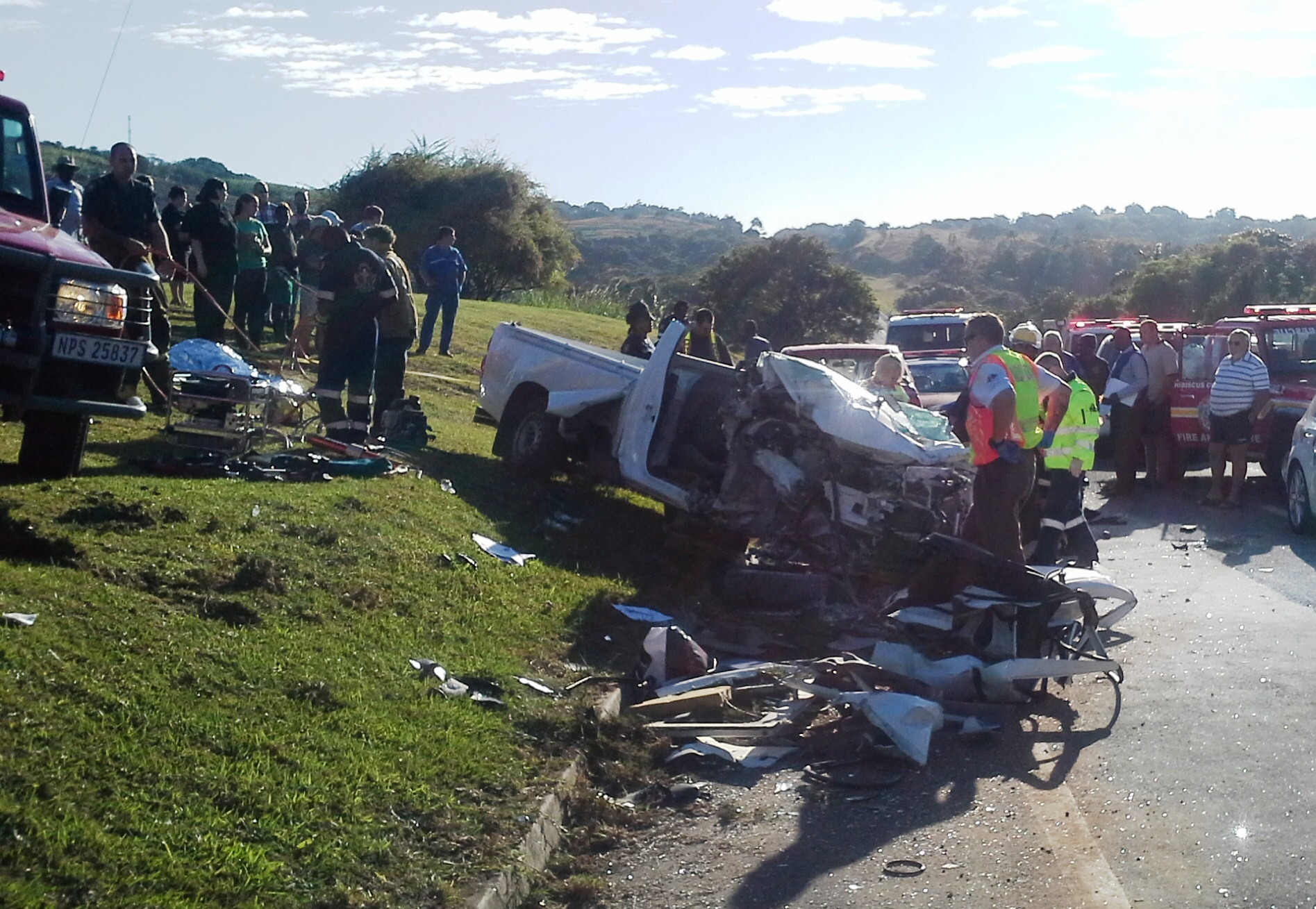 R61 south coast accident leaves one dead – 3 injured | Road