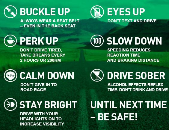 inperial road safety tips