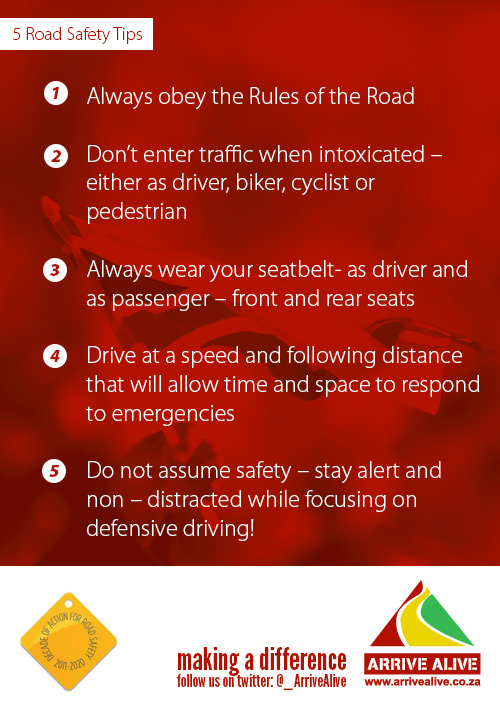 5 best road safety tips