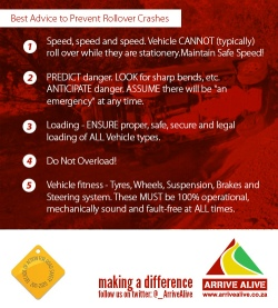 safety advice prevent rollovers