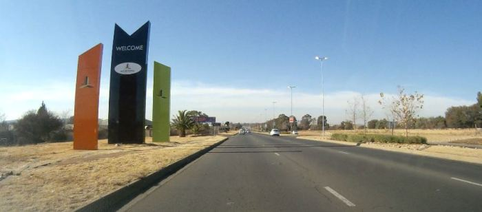 Bloemfontein entrance