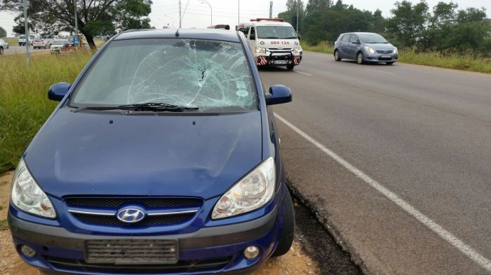 Pedestrian seriously injured in Woodmead