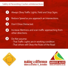 safety preventing crashes at Intersections