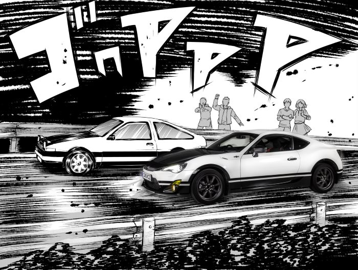 Toyota Creates Manga-Inspired 86 Initial D Concept (6)