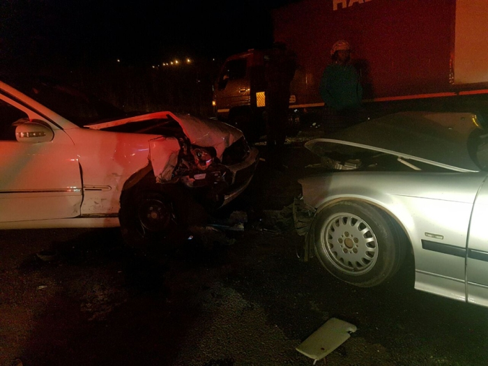 Man dies in collision between two vehicles on Tshepiso ...