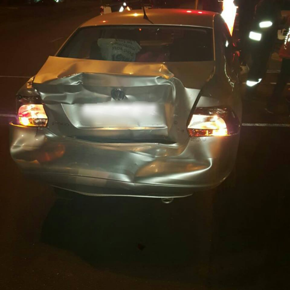 Collision At Intersection In Brooklyn Pretoria Road