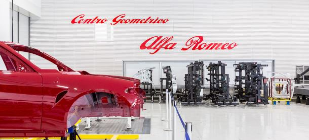 Alfa Romeo's 4 0 plant and Samsung technology   Road Safety