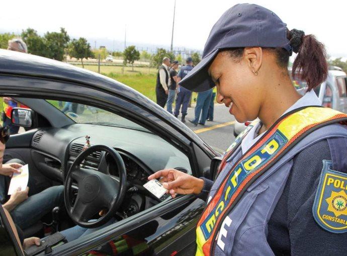 Police license check